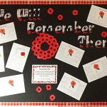 Step Up Remebrance display