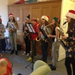 Saxophonics at Manorlands