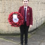 Jonathan laid the wreath on behalf of BGS web