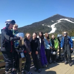 By the slopes