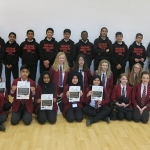 BGS students with BUH ambassadors