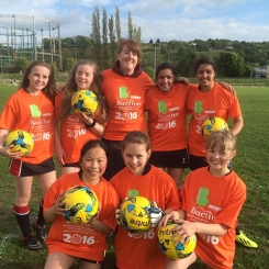 Yr 7 Girls Football Champions