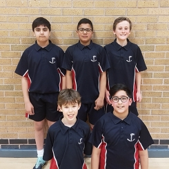 Yr 7 Basketball Team 090318 web