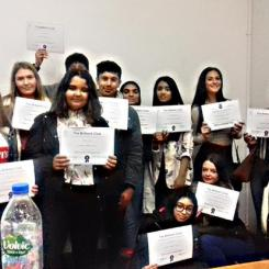Yr 9 and 10 Brilliant CLub Graduation May 18 web 01