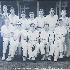 Bingley Grammar Cricket team 1937 web